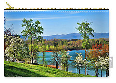 Spring On The Lake Carry-all Pouch by Kenny Francis