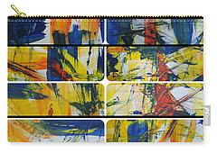 Carry-all Pouch featuring the painting Spring Part One by Sir Josef - Social Critic - ART