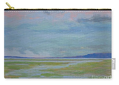Spring Rain At Lake Jackson Carry-all Pouch by Gail Kent