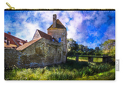 Spring Romance In The French Countryside Carry-all Pouch by Debra and Dave Vanderlaan