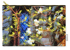 Carry-all Pouch featuring the photograph Spring Romance by Janine Riley