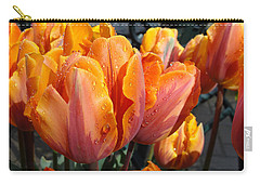 Carry-all Pouch featuring the photograph Spring Shower by Cheryl Hoyle