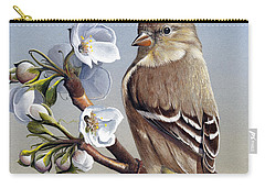 Carry-all Pouch featuring the painting Spring Splendor by Mike Brown