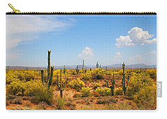 Spring Time On The Rolls - Arizona. Carry-all Pouch