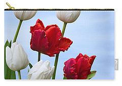 Spring Tulips Carry-all Pouch by Jane McIlroy