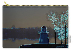Carry-all Pouch featuring the photograph Springfield Lighthouse by J R Seymour