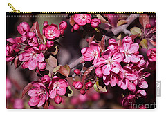 Carry-all Pouch featuring the photograph Spring's Arrival by Roselynne Broussard