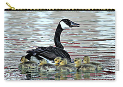 Spring's First Goslings Carry-all Pouch