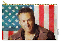 Springsteen American Icon Carry-all Pouch by Dan Sproul