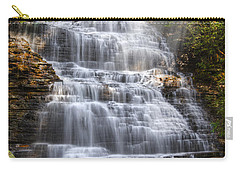 Springtime At Benton Falls Carry-all Pouch