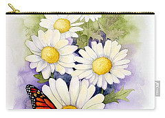 Springtime Daisies  Carry-all Pouch