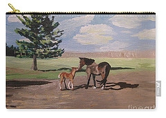 Springtime Foal Carry-all Pouch