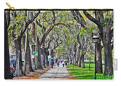 Springtime In Savannah Carry-all Pouch by Lydia Holly