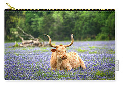 Springtime In Texas Carry-all Pouch by Dave Files