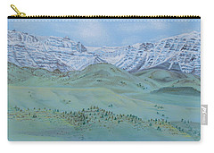 Springtime In The Rockies Carry-all Pouch by Michele Myers