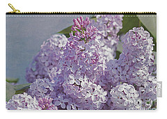 Springtime Lilacs Carry-all Pouch