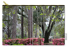 Springtime Swing Time Carry-all Pouch by Carla Parris