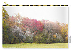 Carry-all Pouch featuring the photograph Springtime Trees In Bloom  by Brooke T Ryan