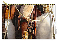 Carry-all Pouch featuring the photograph Spur Of The Moment by Dee Dee  Whittle