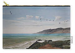 Squadron Of Pelicans Central Califonia Carry-all Pouch