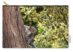 Carry-all Pouch featuring the photograph Squirrel by Kate Brown