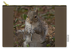 Squirrel With His Obo Carry-all Pouch