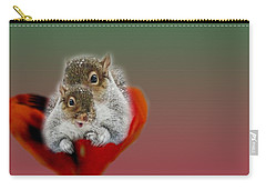 Squirrels Valentine Carry-all Pouch