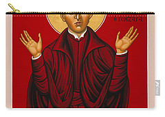 St. Aloysius In The Fire Of Prayer 020 Carry-all Pouch