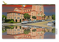 St Anne Church Of The Sunset In San Francisco With A Reflection  Carry-all Pouch