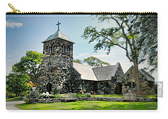 St. Ann's Episcopal Church Carry-all Pouch by Diana Angstadt