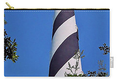 St Augustine Lighthouse Carry-all Pouch by D Hackett