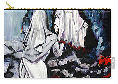 St. Bernadette At The Grotto Carry-all Pouch