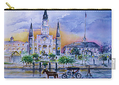 St. Charles New Orleans Sunset Carry-all Pouch