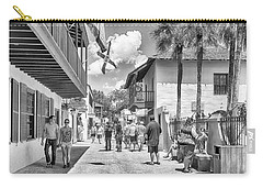 Carry-all Pouch featuring the photograph St. Geroge Street by Howard Salmon