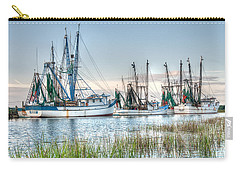 St. Helena Island Shrimp Boats Carry-all Pouch