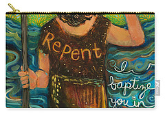 St. John The Baptist Carry-all Pouch