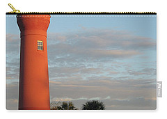 St. Johns River Lighthouse II Carry-all Pouch by Christiane Schulze Art And Photography