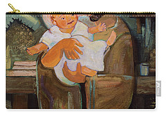 St. Joseph And Baby Jesus Carry-all Pouch