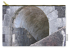 St. Kitts  - Brimstone Hill Fortress Carry-all Pouch by HEVi FineArt