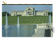 St Louis Art Museum And Grand Basin Carry-all Pouch