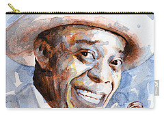 Carry-all Pouch featuring the painting St. Louis Blues 2 by Laur Iduc