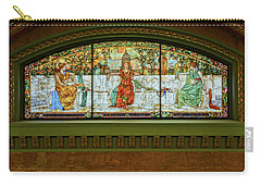 St Louis Union Station Allegorical Window Carry-all Pouch by Greg Kluempers