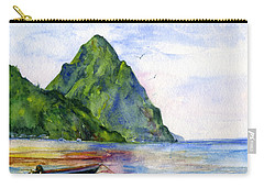 St. Lucia Carry-all Pouch