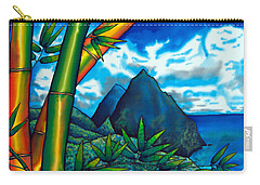 St. Lucia Pitons Carry-all Pouch