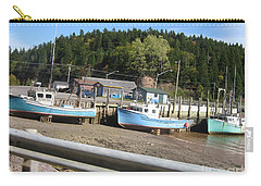 St-martin's Fishing Fleet Carry-all Pouch by Francine Heykoop