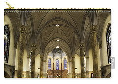 Carry-all Pouch featuring the photograph St Mary's Catholic Church by Lynn Geoffroy
