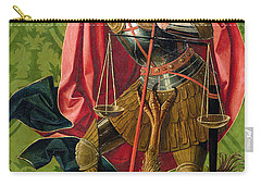 St. Michael Killing The Dragon  Carry-all Pouch