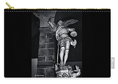 St. Michel Slaying The Dragon Carry-all Pouch