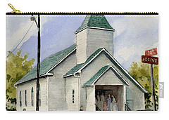 St. Paul Congregational Church Carry-all Pouch by Sam Sidders