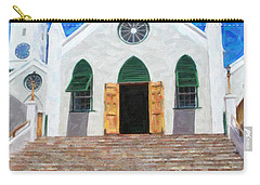 Carry-all Pouch featuring the photograph St. Peter's Church  by Verena Matthew